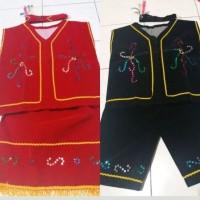 Set Pakaian Adat Dayak (anak-anak)