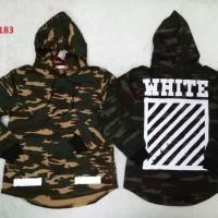 Sweater Hoodie Off White Camo MIRROR 1 : 1