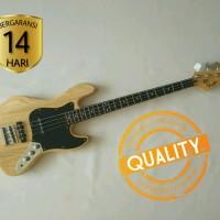 Gitar Bass listrik Fender Jazz Bass Natural color Murah