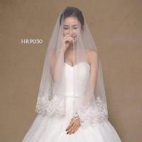 Veil Rambut Wedding Pengantin Korea Modern l Aksesoris Pesta - HRP 030