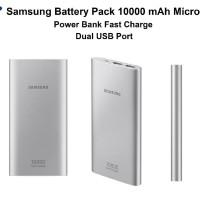 Original Power Bank SAMSUNG Battery Pack 10000mAh Fast Charging Micro