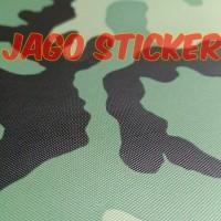 Sticker / Stiker Skotlet Camo Camouflage Loreng Army Tentara Texture