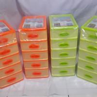 Laci Susun 5 Kecil / Laci Mini Susun 5 / Mini Container / Laci Plastik