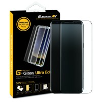 Gobukee Dual Force Galaxy Note8 Note 8 / S8 FULL GLUE Tempered Glass - Galaxy SB Plus