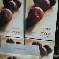 Buah plum kering optrimax pom 1 box 30 sachet