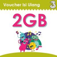 Voucher Data 3 Three / Tri AON PM 2GB Kuota Internet Murah Isi Ulang