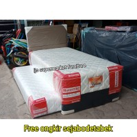 Mustering Full Set Springbed 2 in 1 Vienna + Hb Chicago Uk 90