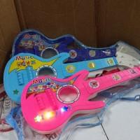 mainan gitar anak(suara senar seperti gitar asli)