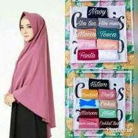Khimar pet antem JUMBO|simple hijab |kerudung |wolfis|jilbab