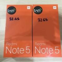 Xiaomi Redmi Note 5 - Garansi Resmi TAM 3/32GB Warna Black