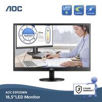LED Monitor AOC E970SW 18.5 - Hitam