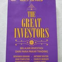 buku original The Great Investors karangan Glen Arnold