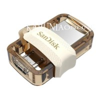 FLASHDISK SANDISK USB OTG m3.0 WHITE 64GB/UP TO 150 MB/S
