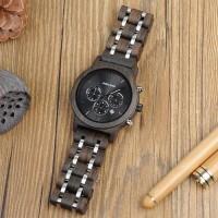 TERBARU!!! Jam Tangan Pria Kayu / Wooden Watch / Analog Chronograph