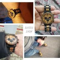 Jam Tangan Pria Kayu / Wooden Watch / Analog BOBO BIRD P09