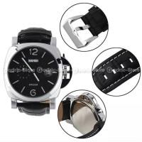 SKMEI Jam Tangan Pria Analog Leather Kulit Water Resistant 1124 1124CL