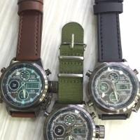 Jam Tangan Pria Analog dan Digital EDIFY ORIGINAL 81716 KULIT