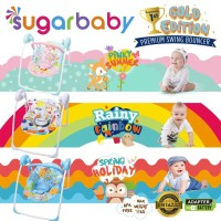 SWING Bouncer Sugar Baby Gold Edition (bouncer bayi berayun otomatis)