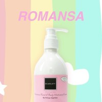 Scarlett Whitening Body Lotion BPOM Original - Romansa