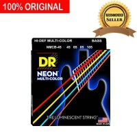 Senar Bass Elektrik Neon Multi Warna DR Strings NMCB 45