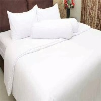Sprei T30 Queen Polos Putih Rosewell 160x200 cm