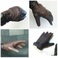 sarung tangan motor kulit domba