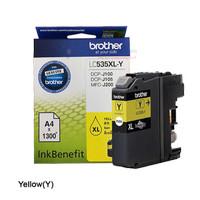 BROTHER Tinta LC535XL Y   LC535Y Original LC-535XL Yellow