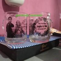 Souvenir gelas CG/souvenir gelas/souvenir Jakarta/souvenir murah