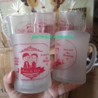 Souvenir gelas CL/souvenir gelas/souvenir murah/souvenir Jakarta