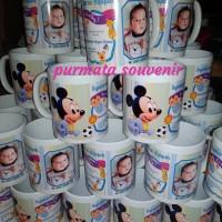 Mug foto/souvenir aqiqah/souvenir ultah/souvenir jakarta