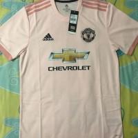 (PRE ORDER) Jersey Manchester United Away 2018/2019,ORIGINAL