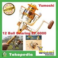 Rell Pancing EF6000 Metal Fishing Spinning Reel 12 Ball Bearing
