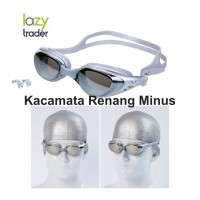 Myopia Optical Swim Goggles Adult - Kacamata Renang Minus