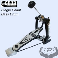 Single Pedal Bass Drum Double Chain DB Percussion Kuat Awet DPD 669