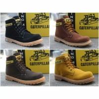 Sepatu pria casual sepatu cowok murah Caterpillar Middle Boots dewasa