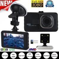 CCTV kamera Mobil DUAL LENS 3 FULL HD 1080P dengan kamera belakang