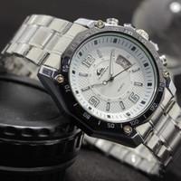 Jam tangan pria quicksilver rantai besi