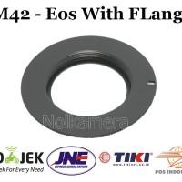 Adapter m42 To Canon Eos with flange 500d 600d 60d 70d 7d 5d