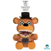 Funko Plush Five Nights at Freddy's The Twisted Ones - Freddy Plushies