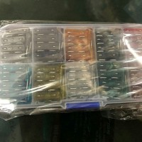 Fuse Blade Besar 1 set 100 pcs dengan Box - Sekring Tancap Lengkap