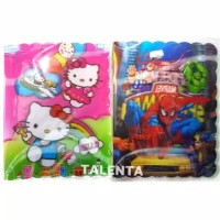 Binder File Fancy Karakter 5 Dimensi A5