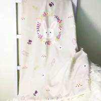 Selimut Bayi Katun Premium Jepang Petite Mimi Kelinci
