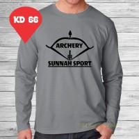 kaos Premium Archery Sunnah sport lengan panjang