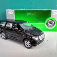Toyota kijang Innova Diecast miniatur mobil Welly skala 1:60 murah
