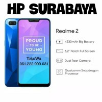 Realme 2 Ram 3/32Gb New Hitam Berlian, Produk by Oppo