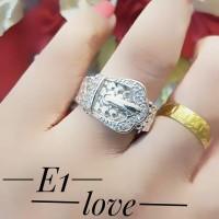 xuping cincin lapis emas putih 24k 2110