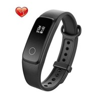 LENOVO G10 HEART RATE SMART BAN - Hitam Diskon