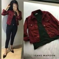 jaket Jeans wanita Levis Jaket Cewek Denim Fashion Muslim In-out door
