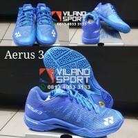 Sepatu Badminton Yonex Aerus 3 Men Blue