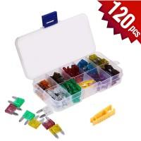 Fuse Blade Mini Set 120 Pcs + Box + Puller